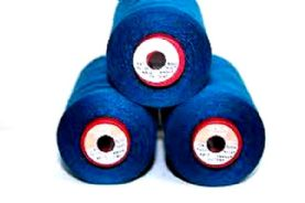 Bargain Bundle 3 x 5,000M Cone of Navy Blue Coats Cometa 120 Overlocking Thread